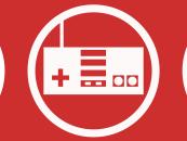 Infographie sur l'usage des jeux vidéo dans l'éducation (Anglais)
