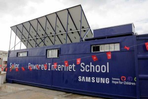 Samsung Solar Powered Internet Classroom